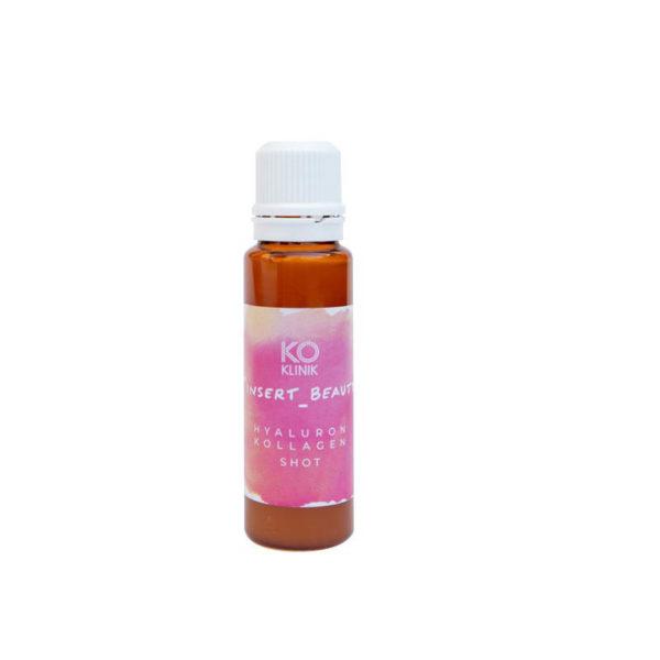 Beauty Hyaluron Drin hochdosiert - Kollagen Shot für schöne Haut - Einzelampulle