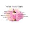 Beauty Hyaluron Drink - hochdosiert Kollagen Shot - für schöne Haut - Wirkstoffe
