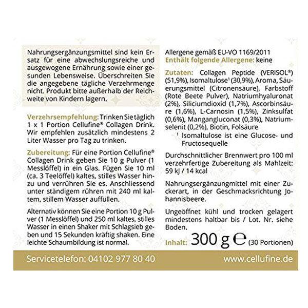 Zellregeneration - Anti Aging Maßnahme mit Peptiden, 300 g - Information