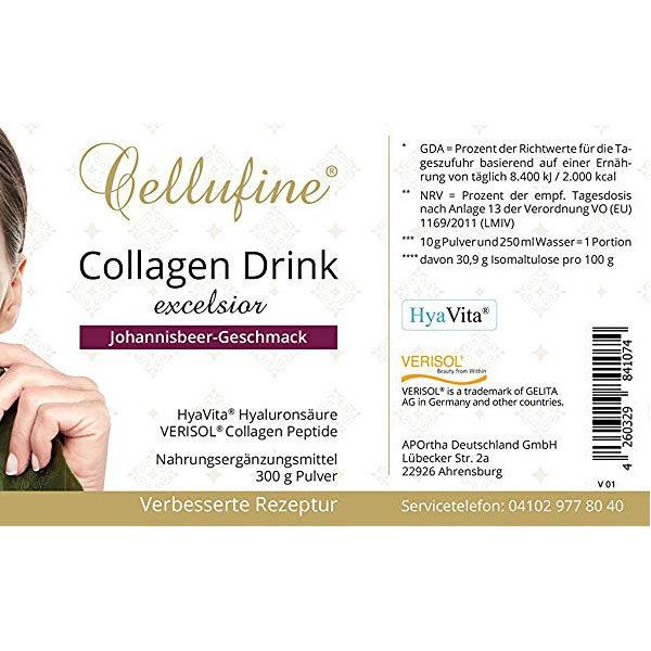 Zellregeneration - Anti Aging Maßnahme mit Peptiden, 300 g - Verpackungsaufdruck