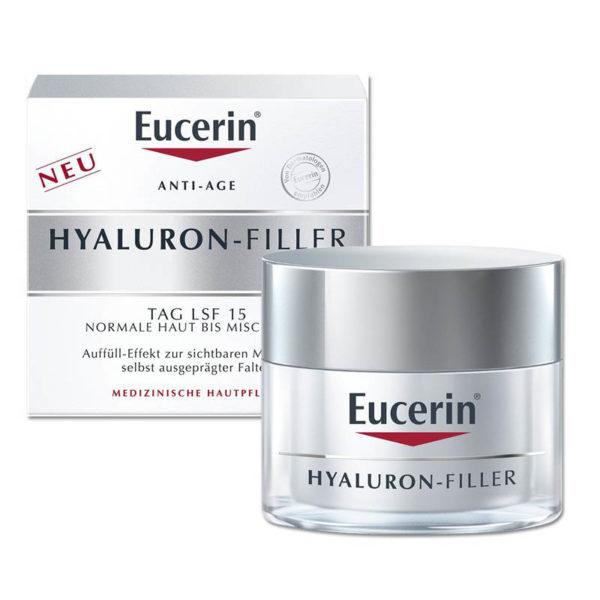 Faltenfiller Gesicht - Eucerin Hyaluron-Filler Tagescreme