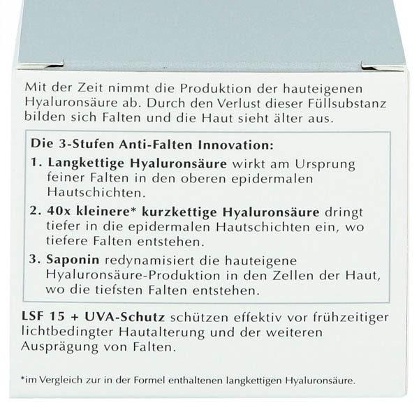 Faltenfiller Gesicht - Eucerin Hyaluron-Filler Tagescreme - Aufschrift 2