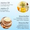 Hautregenerierung, Hyaluron Serum mit Shea Butter, Faltenfüller - Sheabutter, Jojoba-Öl
