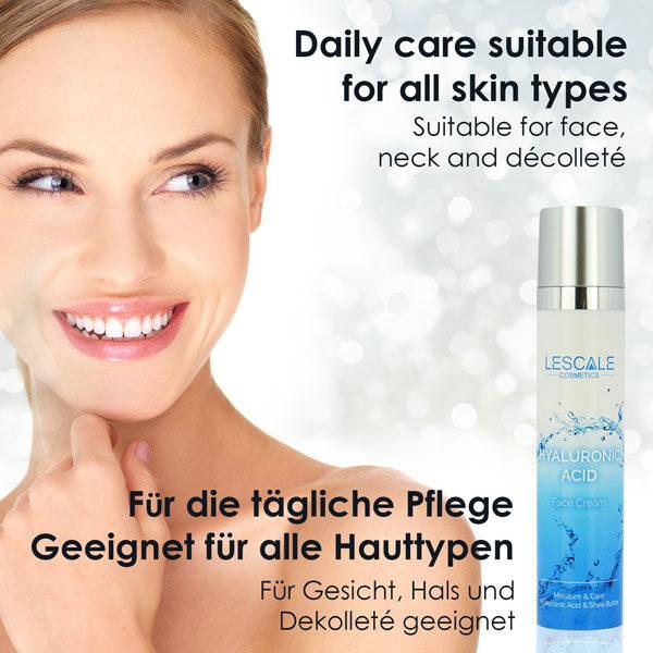 Hautregenerierung, Hyaluron Serum mit Shea Butter, Faltenfüller - Skin Care