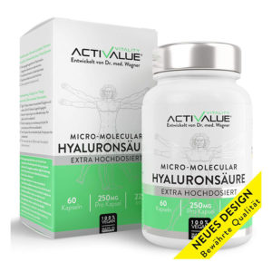 Hyaluron Kur, Hautvitalisierung - VERGLEICHSSIEGER, das Original von Dr med Wagner, mikro-molekular