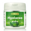 Veganes Hyaluron - 50 mg rein, hochdosiert, 180 Tabletten, vegan – wichtiger Baustoff für Haut - Behältnis