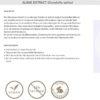 Timeblock Antifalten Serum mit Soforteffekt, Hyaluron-Creme Komplex – unisex, 50 ml - Algae Extract