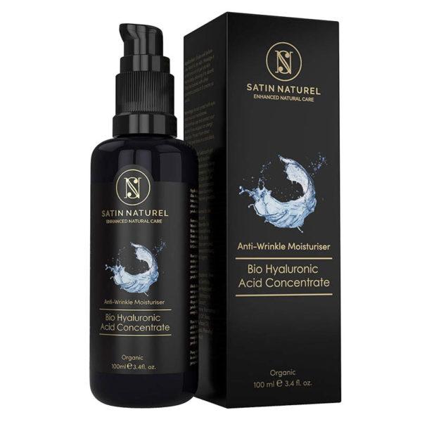 BIO Anti-Aging - Hyaluron Serum, vegan - 100 ml - Glasflasche