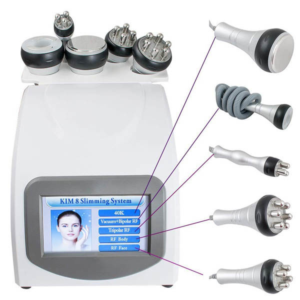 RF Lifting – Radiofrequenz Hautlifting, 5 in 1, apparatives Slim & Anti-Aging - Anwendungsprogramme