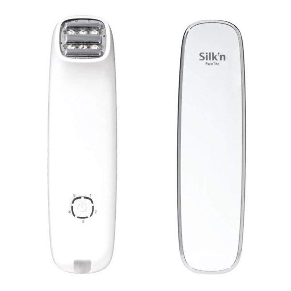 Silk'n FaceTite – Radiofrequenz Anti-Aging Gerät zur Faltenbehandlung - Vorn und hinten
