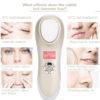 Heiß-Kalt Anti-Aging, mobiles Ultraschall Therapiegerät für Gesicht & Augenpartien, ION Mikro-Strom, Galvanikkopf - Wirkungsbereiche
