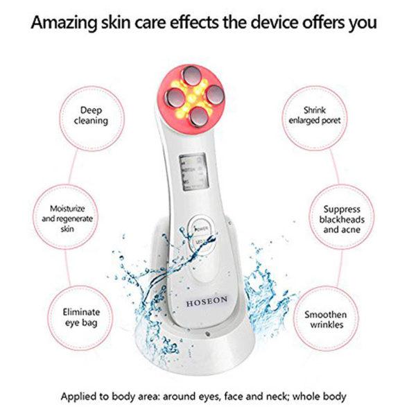 ION Skin Firming, kosmetische Lichttherapie - Akne, Hautverjüngung, Faltenentfernung - Anwendungsgebiete