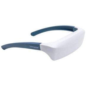 Lichttherapie Brille – AntiAging, Aknereduzierung, gegen Depressionen, für Brillen- & Kontaktlinsenträger geeignet - Ansicht