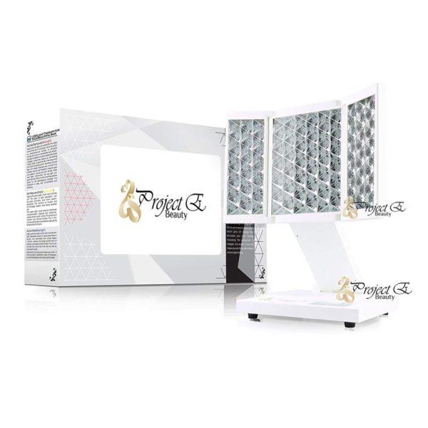 E- Beauty Photon Therapie – faltbares Profi-Home-Spa Tischgerät, LED - Dimensionen