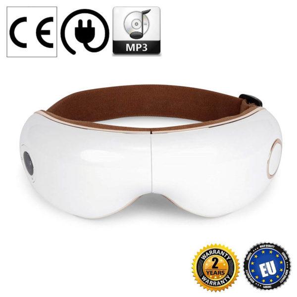 Skandas Augen Massagegerät - Massagebrille mit Vibrations-, Luftdruck- Thermomassage - Main