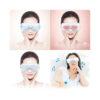 Skandas Augen Massagegerät - Massagebrille mit Vibrations-, Luftdruck- Thermomassage - Musik, Thermage, Vibration, Luftdruckmassage