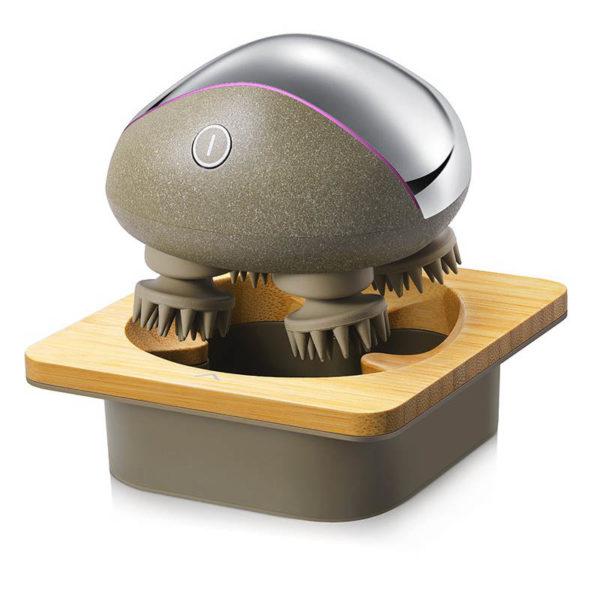 Breo Electric - Design- Kopfhaut Massager, kabellos, Haarausfall vermeiden - Ladestation