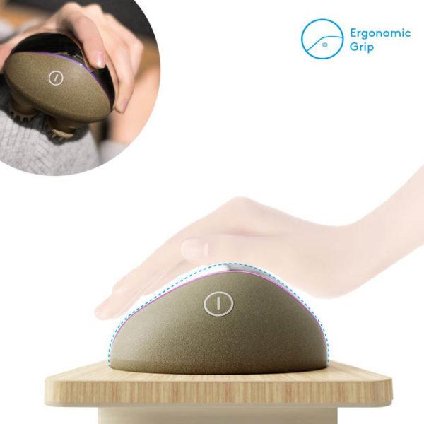 Breo Electric - Design- Kopfhaut Massager, kabellos, Haarausfall vermeiden - ergonomisch