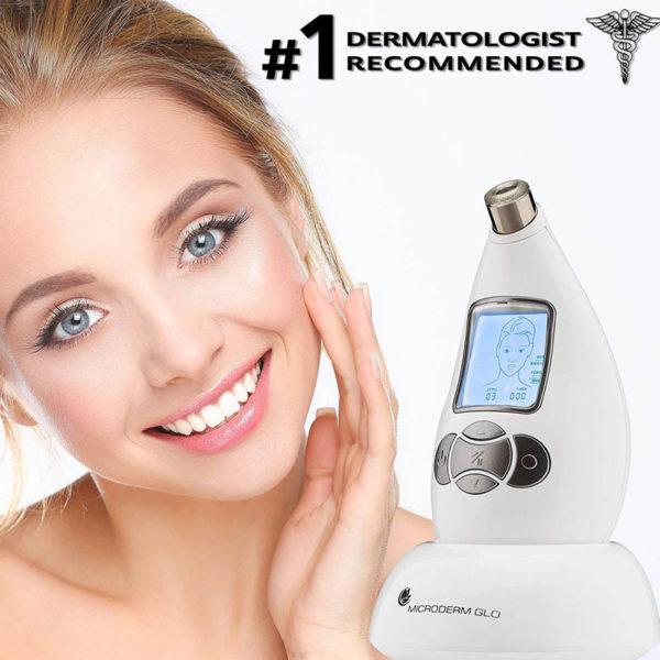 Microderm GLO Diamant System Pro - Homegerät - glatte reine Haut schon nach einer Woche - von Dermatologen empfohlen