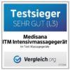 ITM Klopfmassage - Akupressur Massagegerät, mit versch. Köpfen, Wärmefunktion - Dauerbrenner und Testsieger