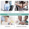 Faszienbooster AntiAging Massagepistole - Muskelfitness, Gewebetherapie - Anwendung