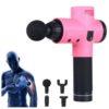 Faszienbooster AntiAging Massagepistole - Muskelfitness, Gewebetherapie - Hauptansicht pink