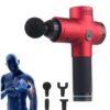 Faszienbooster AntiAging Massagepistole - Muskelfitness, Gewebetherapie - Hauptansicht rot