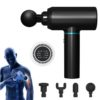 Faszienbooster AntiAging Massagepistole - Muskelfitness, Gewebetherapie - Hauptansicht schwarz