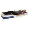 Physio Pro Vibrations- & Thermomassage Liege - Herz-Waage Position - in Aktion
