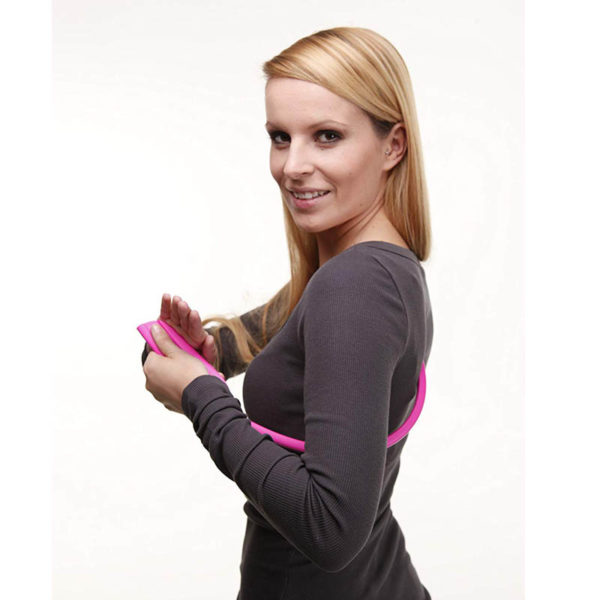 Einhand Nacken Massagegerät - Triggerpunktmassage, Lösen von Faszien, Verspannungen, Schmerzen - Anwendung Schulterblatt