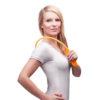 Einhand Nacken Massagegerät - Triggerpunktmassage, Lösen von Faszien, Verspannungen, Schmerzen - Anwendung stehend