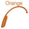 Einhand Nacken Massagegerät - Triggerpunktmassage, Lösen von Faszien, Verspannungen, Schmerzen - Orange