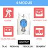 PRO Beauty Ultraschallgerät - 1 MHz - Modi - Glätten - Liften - Massage - Hautaufhellung