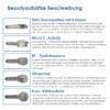 7 in 1 Multi Hydrodermabrasions Gerät - Peeling, Reinigung, Hautreparatur, Anti Aging - Aufsätze - Beautyinstrumente Beschreibung