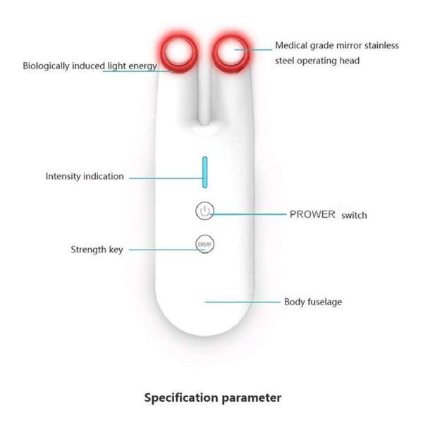 RF Augenmassagestab SMGLJJ - Radiofrequenz-Lifting - Anti Aging Gerät Funktionen