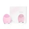 Elektrische Gesichtsmassagebürste Foreo - lila, Pulsmassage sensitive Anti Aging - Verpackung