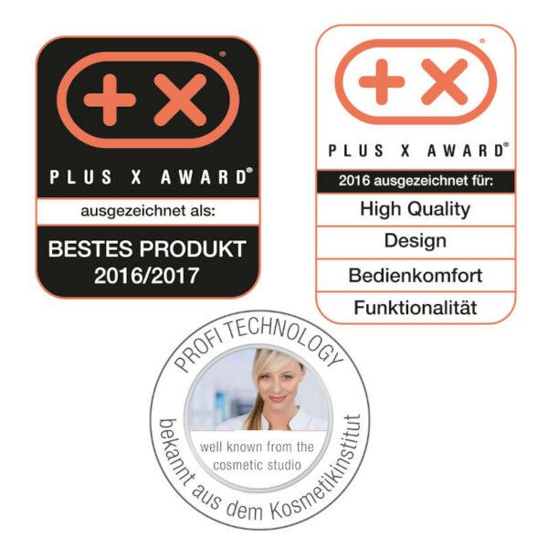 Peelinggerät FC 76 - besseres Hautbild, feinere Poren, zur Selbstanwendung - Prämiertes Peelinggerät