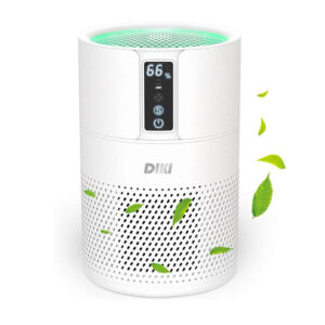 DIKI Air Purifier - Luftreiniger mit HEPA Filter - Frontansicht