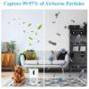 DIKI Air Purifier - Luftreiniger mit HEPA Filter - frische, saubere Luft für Wohnräume, Aufenthaltsräume