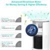 HIMOX Desktop Allergie Luftfilter – HEPA + Aktivkohlesystem - Allergiefilter