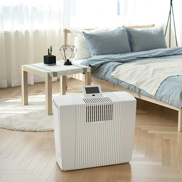 HighEnd Luftreiniger LP60 für Allergiker, Feinstaubsensor - LP60 Ultra Single, weiß - für große Räume