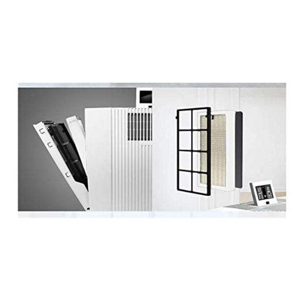HighEnd Luftreiniger LP60 für Allergiker, Feinstaubsensor - hochleistungs Luftreiniger mit Wechselfilter