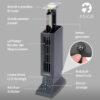 Tevigo 90690 Luftreiniger, Frischluftgerät - bis 45 qm, Ionisierer - Bedienung