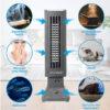 Tevigo 90690 Luftreiniger, Frischluftgerät - bis 45 qm, Ionisierer - Luftpartikel
