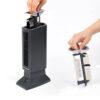 Tevigo 90690 Luftreiniger, Frischluftgerät - bis 45 qm, Ionisierer - herausnehmbarer Filter