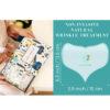 Anti Aging Tapes Silicon Dekollete zur Brust Faltenbehandlung - Anti Aging Pflaster Abmessungen