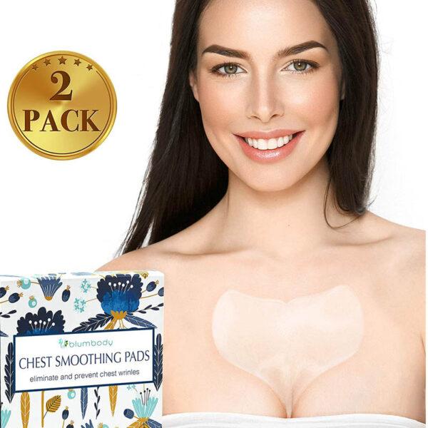 Anti Aging Tapes Silicon Dekollete zur Brust Faltenbehandlung - wiederverwendbar