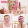 Facelifting Maske MYSHA-V - Abnehmmaske Wange Kinn, Luftkissenlifting - Tragebeispiele