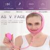 Facelifting Maske MYSHA-V - Abnehmmaske Wange Kinn, Luftkissenlifting - Wirkung