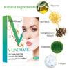 V- Gesichtslifting Maske, V Slimming Maske - Kinn und Wangen, gegen hängende faltige Haut - Inhaltsstoffe Anti Aging Maske